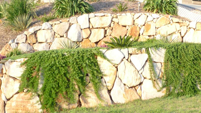 Retaining walls custom made for your garden or project